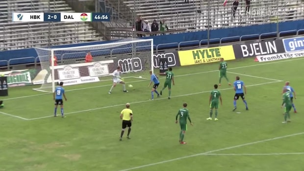 Johansson trycker in 2-0 för Halmstad