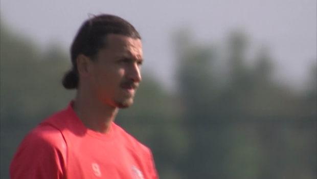 Zlatan hyllas av motståndartränaren inför slutspelet