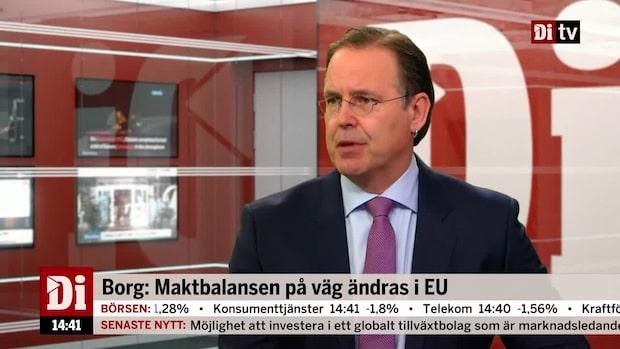 Anders Borg: Maktbalansen på väg att ändras i EU