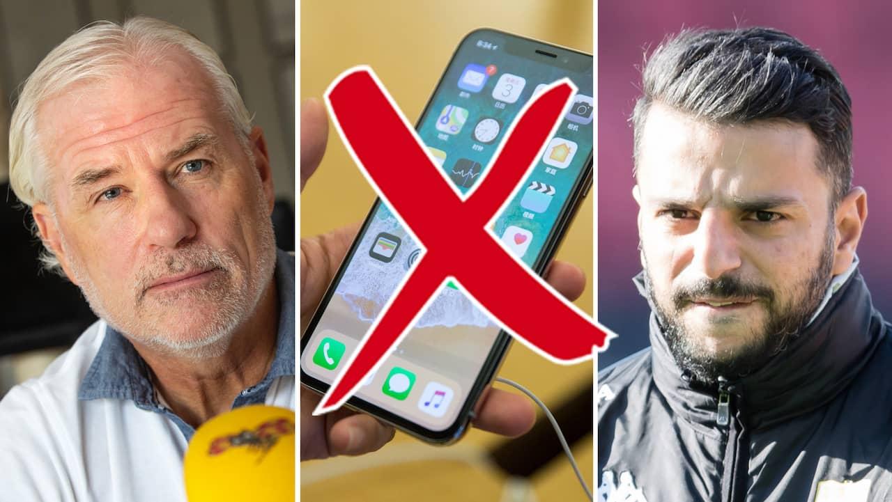 Hyséns svar – efter Blåvitts mobilförbud
