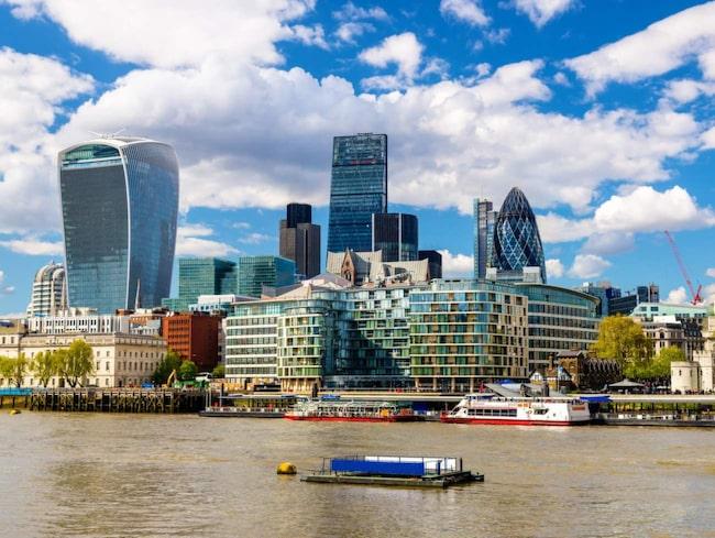 """<span>Byggnaden i London som i folkmun kallas """"The Walkie Talkie"""" har utsetts till landets fulaste byggnad.</span>"""