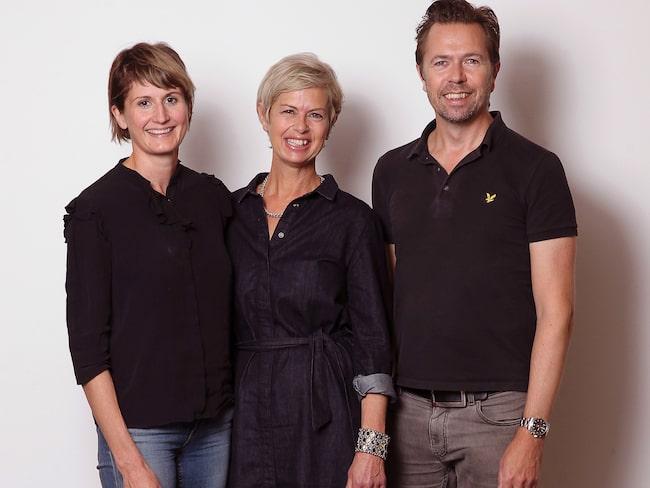 Allt om Vins nya provningsgrupp, Linda Pérez, Gunilla Hultgren Karell och Andreas Grube.