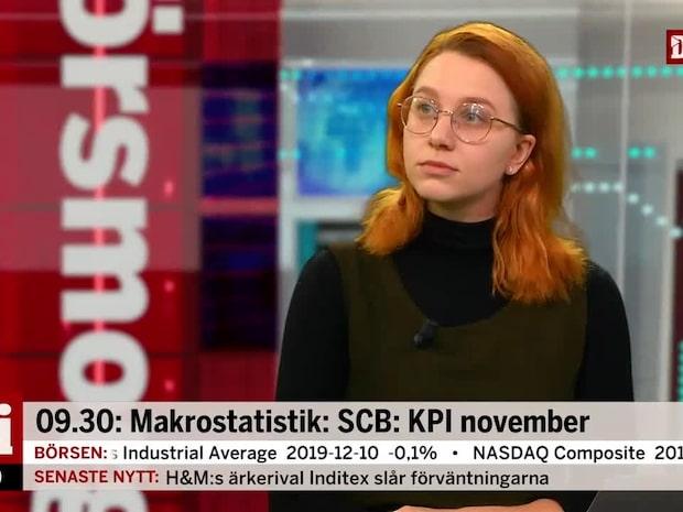 Inflationen högre än väntat - prickar Riksbankens prognos