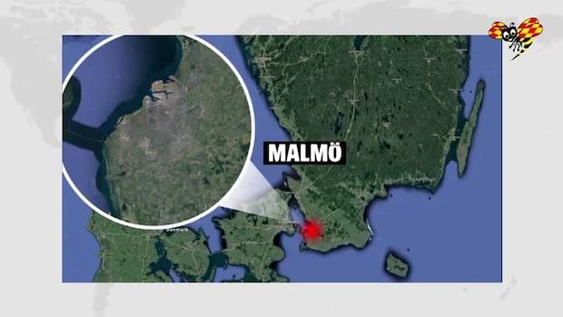 En person gripen efter hög smäll i Malmö