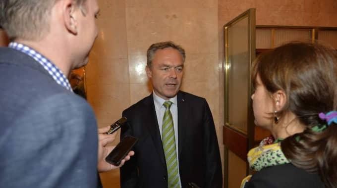 Jan Björklund (FP) ska göra allt för att få alliansen återvald 2018.