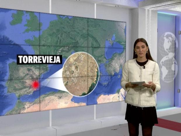 Jordbävning i Spanien – 4,2 på richterskalan