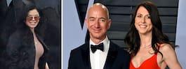 Bezos skilde sig – när kärleksaffären avslöjades
