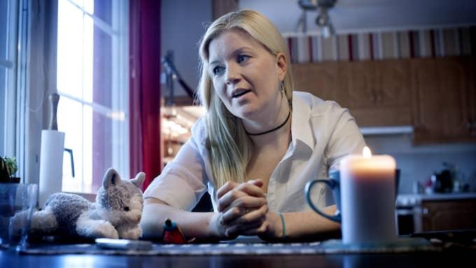 Emma Jangestig säger att det var hennes familj som uppmärksammade Leif GW:s utpekande. Foto: ROBBAN ANDERSSON