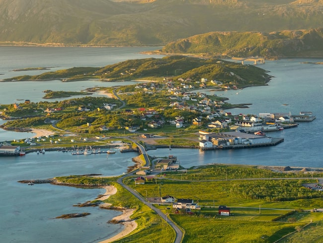 Sommarøy – ön som kan bli världens första tidsfria zon.