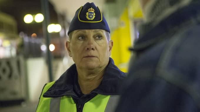 Polisens presstalesman Ulla Brehm varnar för nya metoden. Foto: Henrik Jansson / HENRIK JANSSON GT-EXPRESSEN