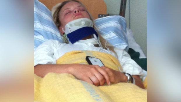 Matilda, 24, lever med massiv smärta