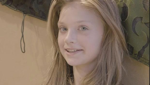 Elvaåriga Josefin Ekelund är starkast av alla