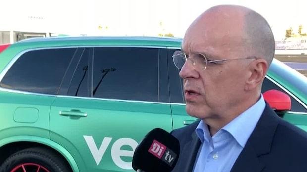 Veoneer pressat – Di TV intervjuade vd på CES-mässan