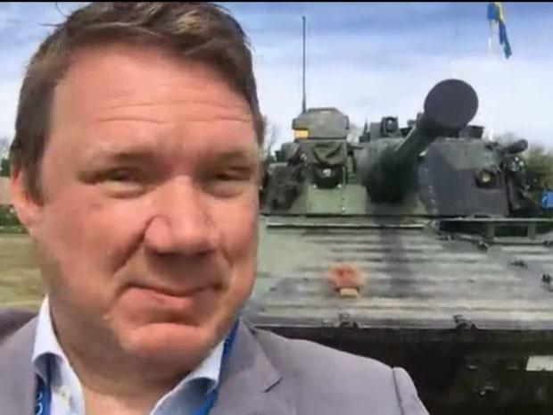 Ett nytt regemente invigs på Gotland
