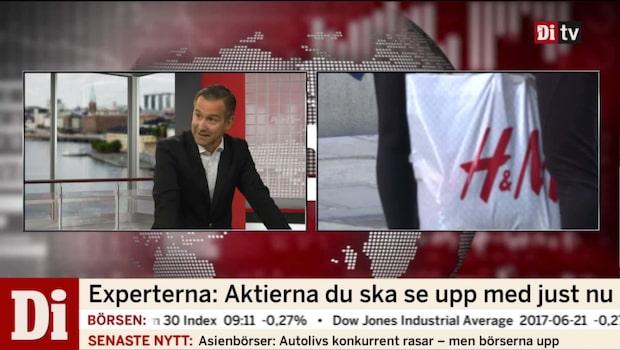 """Hägerstrand: """"Gå lång i Kinnevik och kort i H&M"""""""