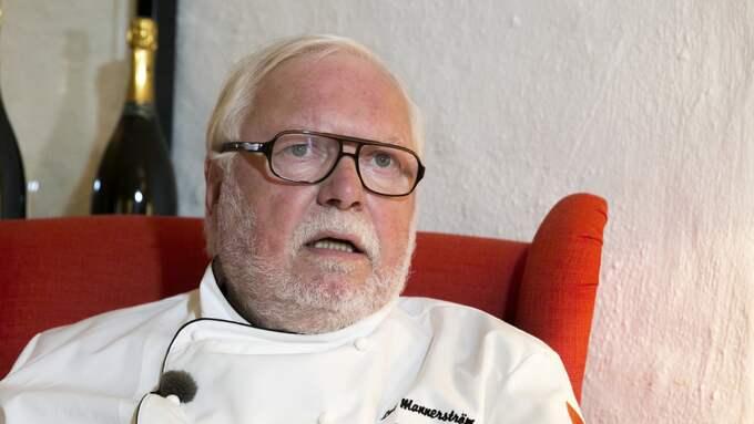 Stjärnkocken Leif Mannerström försvarar nu sin kollega. Foto: Lennart Rehnman / GT/EXPRESSEN