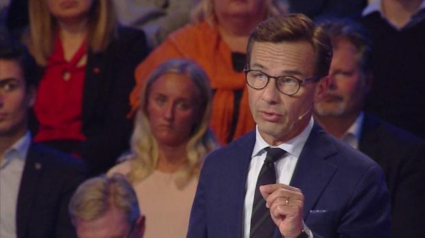 """Ulf Kristersson: """"Mer resurser till poliser"""""""