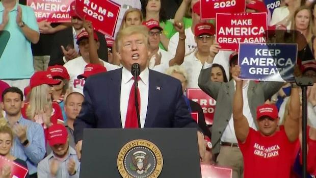 """Trump: """"Det är slut på stölden av amerikanska jobb"""""""