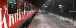 JUST NU: Stora förseningar och inställda tåg