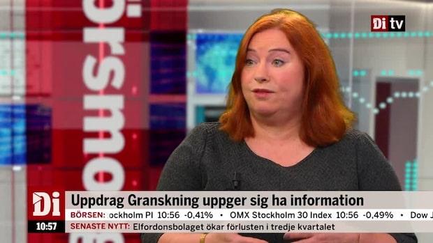 """Agnetha Jönsson om raset i SEB: """"Kan vara en liten storm i ett vattenglas"""""""