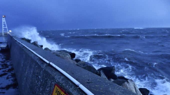 I dag drar stormen från Skottland in över Sverige med risk för riktigt starka vindar och oväder under eftermiddagen och kvällen. Foto: Christian Örnberg
