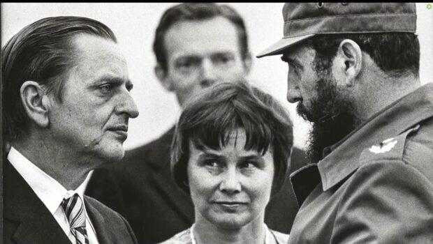 Han har träffat Fidel Castro med Olof Palme