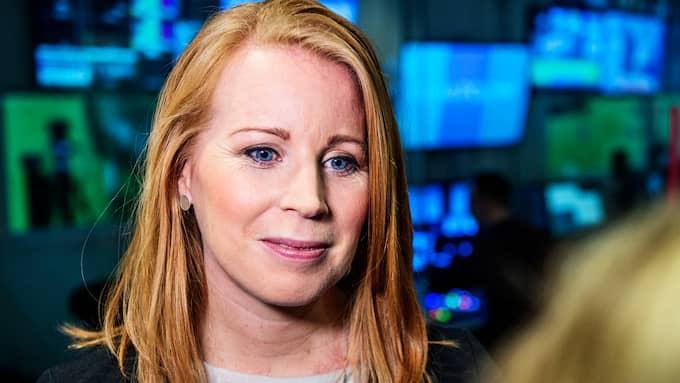 Annie Lööf är partiledare för Centerpartiet. Foto: ANNA-KARIN NILSSON
