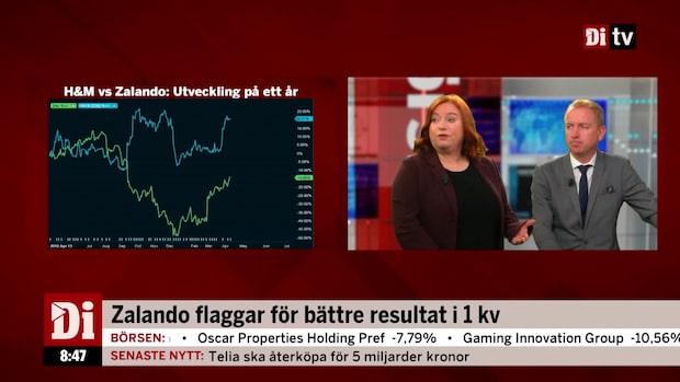 """Zalando flaggar för bättre resultat i 1kv: """"Överraskande"""""""