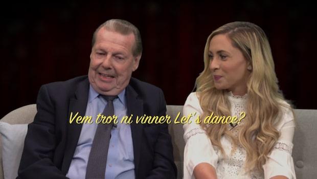Vem vinner Let's dance?