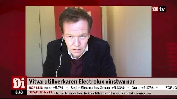 """Därför vinstvarnar Electrolux: """"Plötsligt blir man skeptisk till aktien"""""""