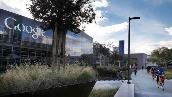 Googles huvudkontor i Mountain View, Kalifornien. Foto: LEAH MILLIS / POLARIS/IBL