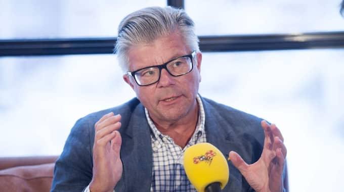 Wallströms förslag fick direkt kritik, bland annat från Hans Wallmark, M, ledamot i försvarsutskottet. Foto: Sven Lindwall