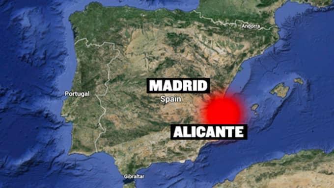 Det var under måndagen som polis larmades till en lägenhet i en ort i närheten av Alicante på spanska medelhavskusten där en svensk man hittats död i en lägenhet, rapporterar den spanska tidningen Diarioinformacion. Foto: Skärmdump från Google