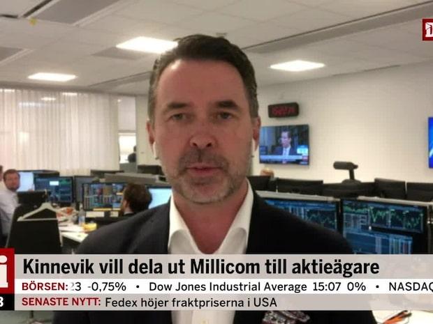 """Fredrik Warg om läget på börsen: """"Allting faller lite mer"""""""