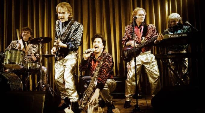Fem kända musiker före seriekrocken.