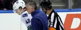 JUST NU: Straffas efter tacklingen på Pettersson