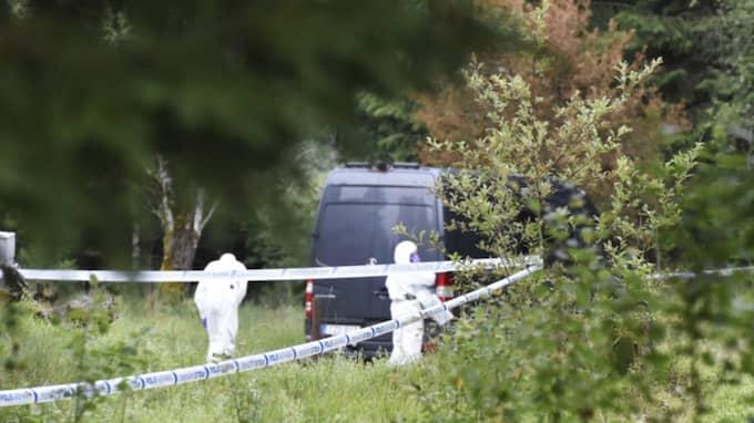 En död man hittades vid ett ödetorp förra veckan. Nu bekräftas att den döde är torpägaren. Foto: Joakim Eriksson