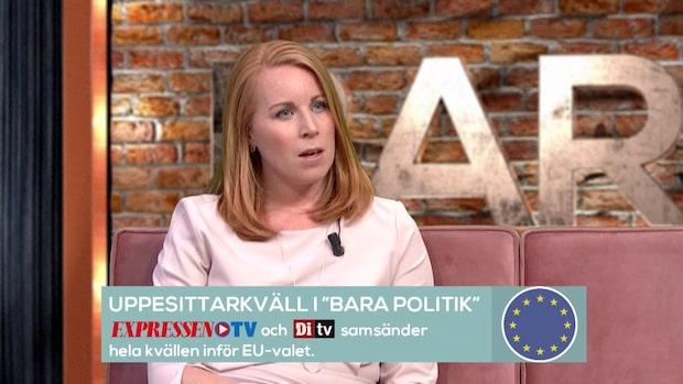 """Annie Lööf: """"EU är ingen bankomat"""""""