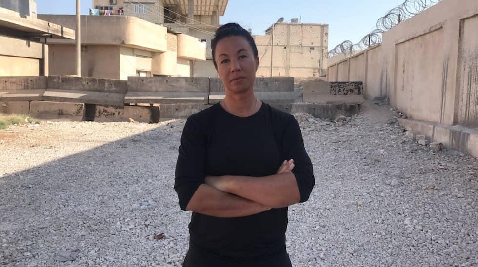 Magda Gad är på plats i Syrien.