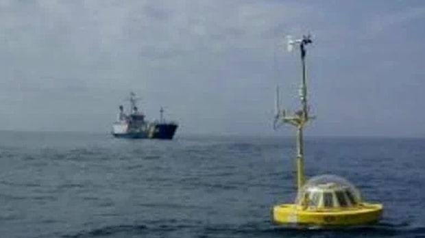 Bekräftad ubåt var havsboj från SMHI