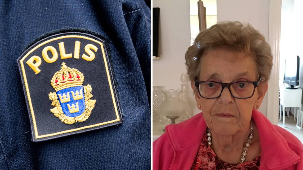 Gun Jonasson, 78, bestals när hon stod i kön