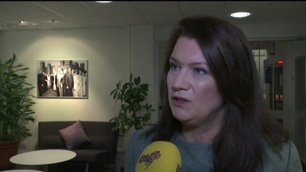 """Ann Linde: """"Le Pen vore inte bra för Sverige"""""""