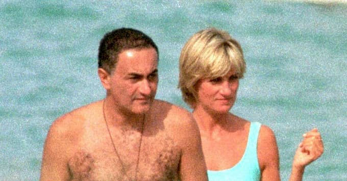 Dodi Al-fayed och prinsessan Diana. Foto: NO CRéDIT / /IBL E-PRESS PHOTO.COM