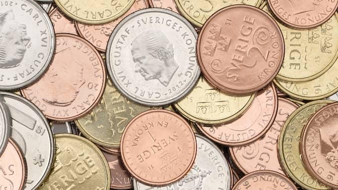 2,7 miljarder kronor i gamla mynt blir snart ogiltiga. Foto: Sveriges Riksbank