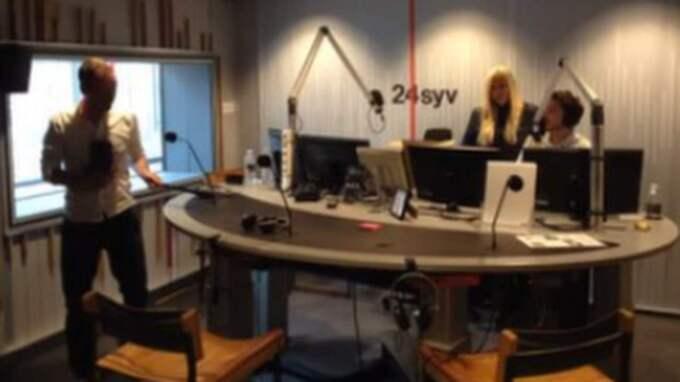 Programmet sändes på måndagen. Foto: Radio24syv