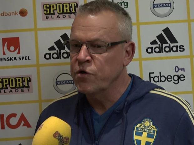 """Janne Andersson: """"Jag känner mig trygg"""""""
