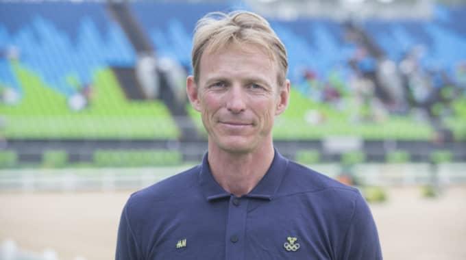Peder Fredricson tog OS-silver i Rio. Foto: Roland Thunholm / BILDBYRÅN