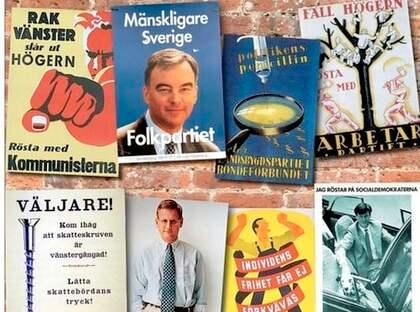 FORT FARANDE BÄST. Forskaren Bengt Johansson anser att de traditionella valaffischerna är överlägsna de mer modernakampanjkanalerna så som twitter och blogg.