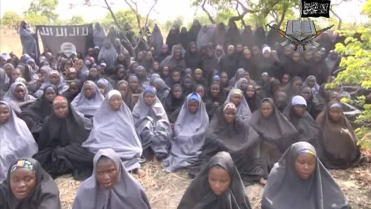 Boko haram saljer skolflickor