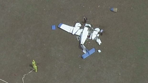 Flygkrasch i Australien, fyra döda